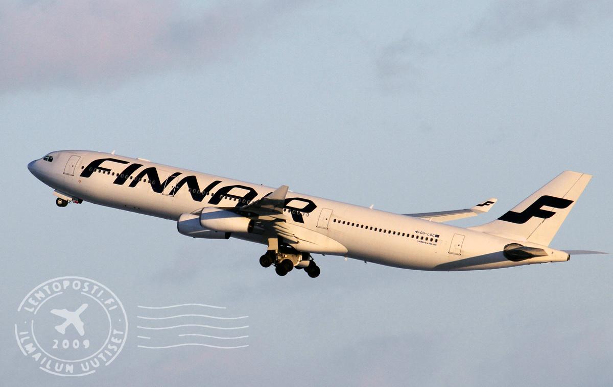 Finnair operoi kesällä Brysseliin A340-koneella | lentoposti.fi