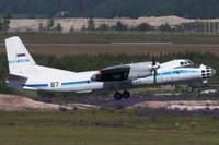 Venäjän ilmavoimien Open Skies Antonov An-30B