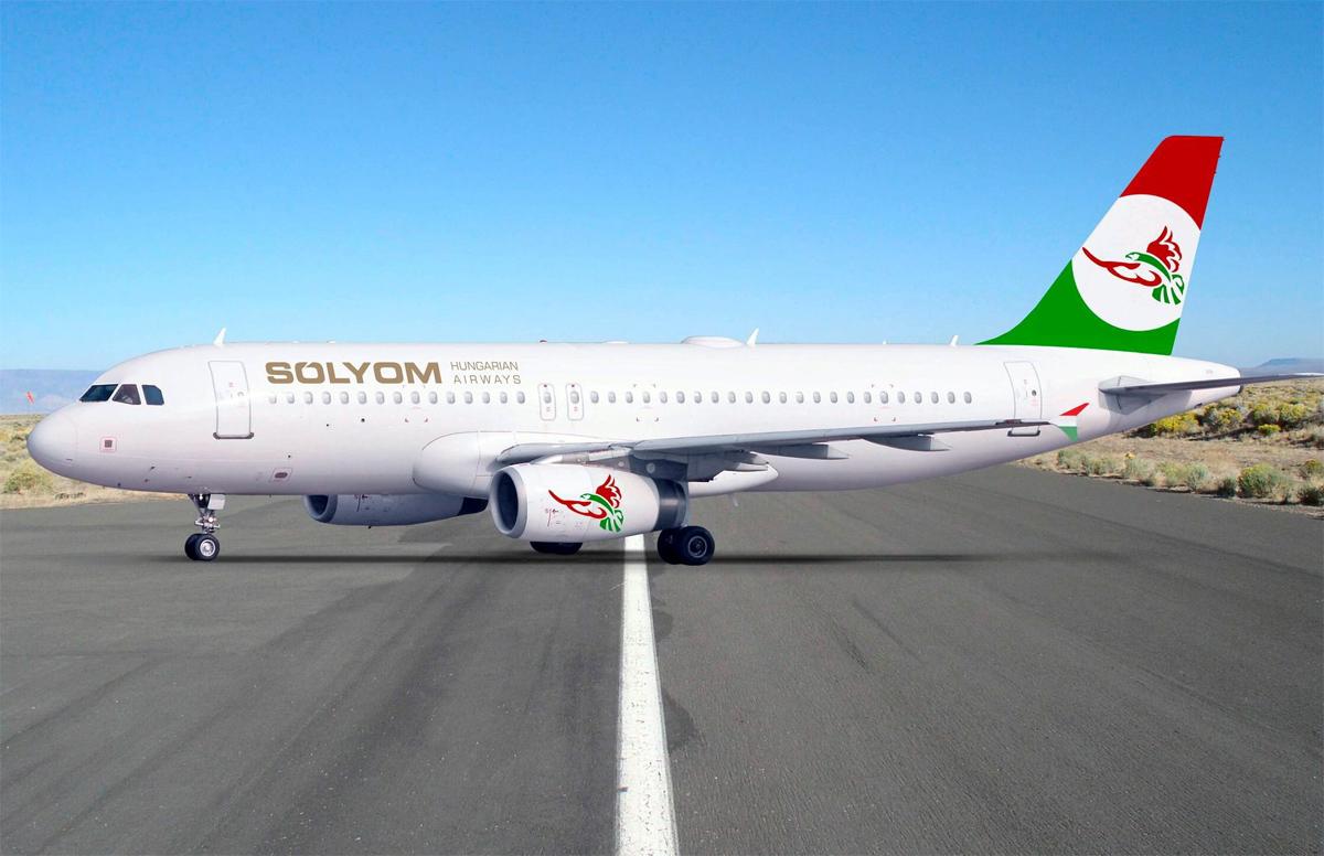 Uusi unkarilaisyhtiö Solyom Hungarian Airways vastaanotti ensimmäisen koneen | lentoposti.fi