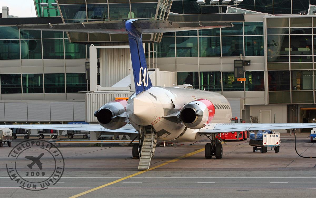 SAS päätti MD-80-aikakauden - viimeinen kone museoidaan | lentoposti.fi