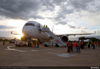 A350_XWB_in_Bolivia_for_high_altitude_testing_5