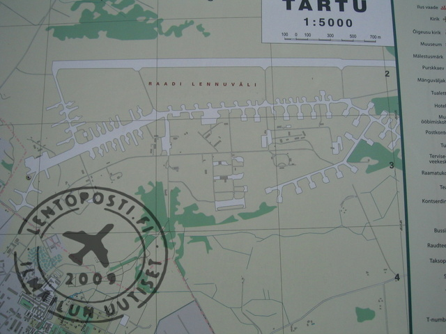 Tartu Raadi Alueen Kartta