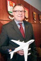 Lufthansan Skandinavian, Suomen ja Baltian maajohtaja Harro Julius Petersen