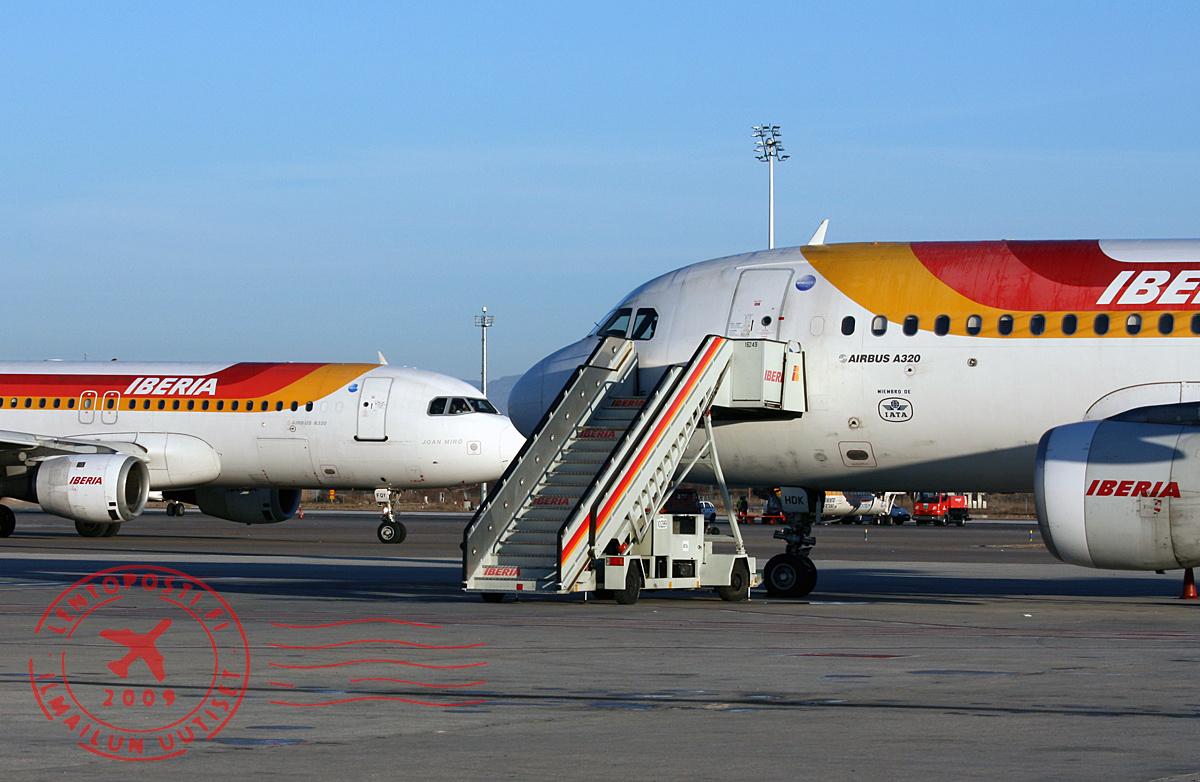 Iberian työntekijät aloittivat uuden lakon | lentoposti.fi