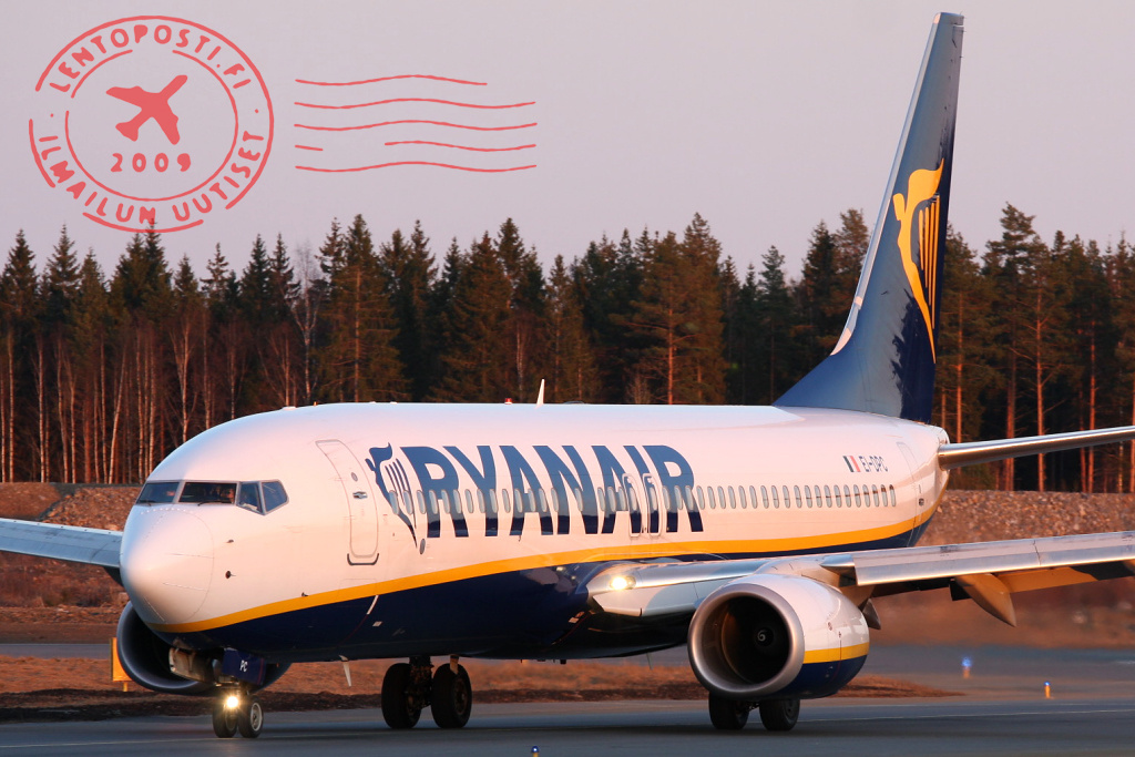 Ryanair aloitti operoinnin Turusta - Odotuksissa jopa 700 000 matkustajaa Suomen reiteiltä ...