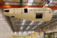 A350_XWB_MSN1_aft_fuselage