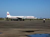 Hamhung lentokenttä ja Air Koryo Ilyushin IL-18
