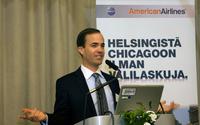 American Airlinesin kansainvälisten toimintojen varajohtaja Kurt Stache.