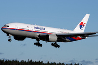 Malaysia Airlinesin 777