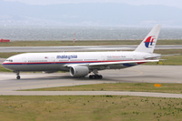 Malaysia Airlinesin Boeing 777