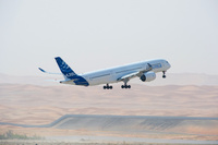A350_MSN3_HOT_WEATHER_TRIAL_AT_AL_AIN-take_off