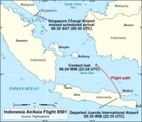 QZ8501_flight_path_wikimedia_AndrewHeneen