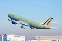 A330_242T__First_flight_take_off_2_