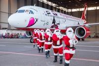 airberlin Christmas aircraft 2015-