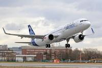 A321neo_CFM_engine_First_Flight_take_off
