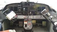 AeroVolga LA-8 -amfibiokoneen (RA-0778G) moderni lasiohjaamo.
