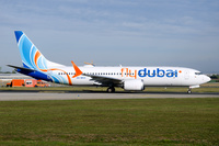 Flydubai Boeing 737 MAX 8, (A6-MAX)
