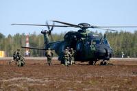 Utti19 NH90 taisteluesityksessä