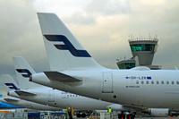 Finnair_airbusA32s_tails
