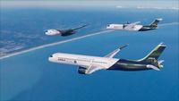 ZEROe concept aircraft - Patrol Flight