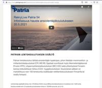 Patria_Finnair_A320-koulutus